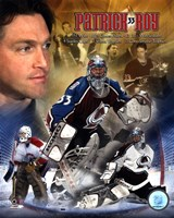 "Patrick Roy - ""Legends"" Fine-Art Print"