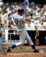 Ron Santo - Batting action Fine-Art Print