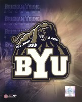 Brigham Young University Logo Fine-Art Print