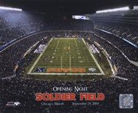 Soldier Field - Opening Night - 9/29/03 Fine-Art Print