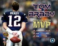 Tom Brady - Supert Bowl XXXVIII MVP Fine-Art Print