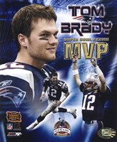 Tom Brady - Super Bowl XXXVIII MVP Champions Collection (limited Edition) Fine-Art Print