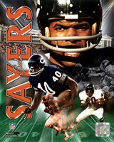 Gale Sayers -LEGENDS COMP. Fine-Art Print