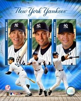"2004 Yankees ""Big3""- HITTERS Fine-Art Print"