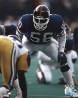 Lawrence Taylor - Defensive Stance Fine-Art Print