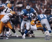 Barry Sanders - Game Action Fine-Art Print