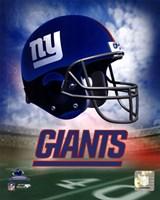N.Y. Giants Helmet Logo Fine-Art Print