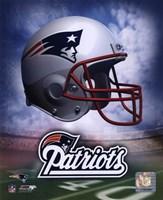 New England Patriots Helmet Logo Fine-Art Print