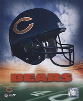 Chicago Bears Helmet Logo Fine-Art Print