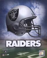 Oakland Raiders Helmet Logo Fine-Art Print