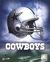 Dallas Cowboys Helmet Logo Fine-Art Print