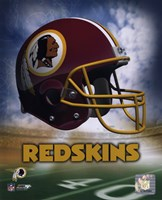 Washington Redskins Helmet Logo Fine-Art Print