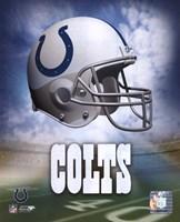 Indianapolis Colts Helmet Logo Fine-Art Print