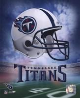 Tennessee Titans Helmet Logo Fine-Art Print