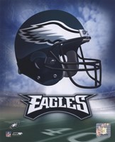 Philadelphia Eagles Helmet Logo Fine-Art Print