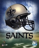 New Orleans Saints Helmet Logo Fine-Art Print