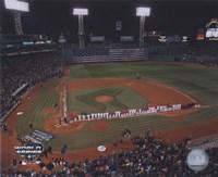 2004 World Series Opening Game National Anthem at Fenway Park, Boston Fine-Art Print