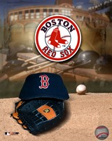 Red Sox - '04 Logo & Cap Fine-Art Print