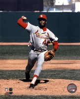 Bob Gibson - Pitching Action Fine-Art Print