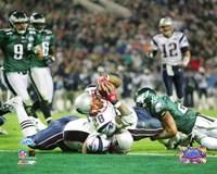 Corey Dillon - Super Bowl XXXIX - 4th quarter 2-yard touchdown run Fine-Art Print