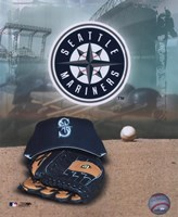 Seattle Mariners - '05 Logo / Cap and Glove Fine-Art Print