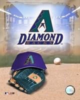 Arizona Diamondbacks - '05 Logo / Cap and Glove Fine-Art Print