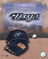 Toronto Blue Jays - '05 Logo / Cap and Glove Fine-Art Print