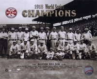 1918 Red Sox World Series Champions Fine-Art Print