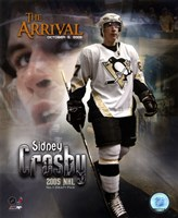 10/5/05 -  Sidney Crosby / The Arrival Fine-Art Print