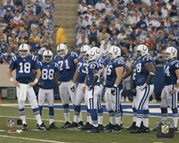 2005 - Colts Huddle Fine-Art Print