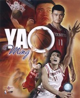 Yao Ming - Portrait Plus '05 Fine-Art Print