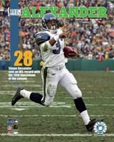 Shaun Alexander - 28th Touchdown Of The Season 1/1/06 NFL Record Fine-Art Print