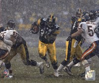 Jerome Bettis - '05 / '06 Action ( In The Snow) Fine-Art Print