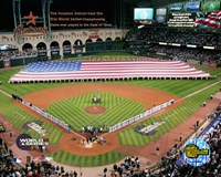 Minutre Maid Park - '05 W.S. Game 3 National Anthem Fine-Art Print