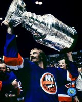 Bobby Nystrom - With Stanley Cup Fine-Art Print