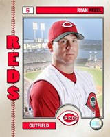 Ryan Freel - 2006 Studio Plus Fine-Art Print