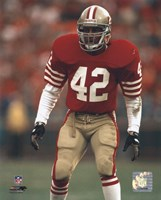 Ronnie Lott - Action Fine-Art Print