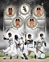 White Sox - 2006 Big 4 Hitters Fine-Art Print