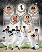 White Sox - 2006 Big 4 Pitchers Fine-Art Print