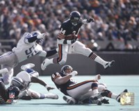 Walter Payton - in air Action Fine-Art Print