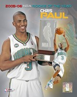 Chris Paul - 2006 Rookie Of The Year Fine-Art Print