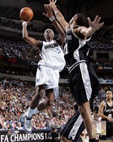 Josh Howard - '06 Playoff Action Fine-Art Print