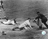 Babe Ruth - Sliding Into Home Fine-Art Print