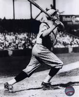 Babe Ruth - Batting Action Fine-Art Print