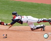 Victor Martinez - 2006 Catching  Action Fine-Art Print
