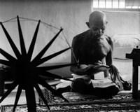 Mohandas K. Gandhi (#15) Fine-Art Print