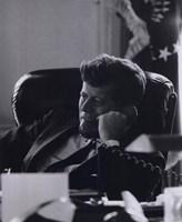 President John F. Kennedy in the Oval Office (#7) Fine-Art Print