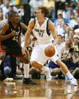Dirk Nowitzki - 2006 Finals / Game 2 Dribble (#10) Fine-Art Print