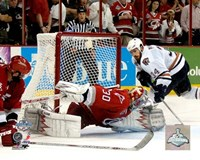 Cam Ward - 2006 Stanley Cup / Game 7 Game Winning Save (#33) Fine-Art Print