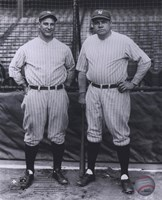 Lou Gehrig / Babe Ruth - Full Body / Pinstripes Fine-Art Print